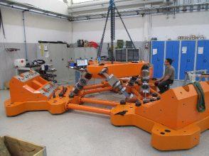 Lastmesssystem TU Delft 6DOF Hexapod-Messsystem
